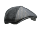 送料無料 N178 Newsboy ウール 混  ハンチング 帽子 グレー