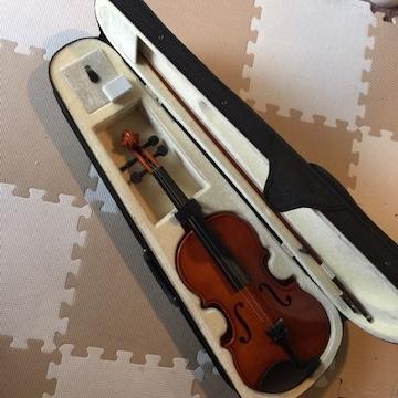 子供用 入門者向き ヴァイオリン ハードケース付☆要メンテナンス