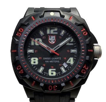 未使用正規ルミノックス時計XL.L0215.SLラバーブレスメンス