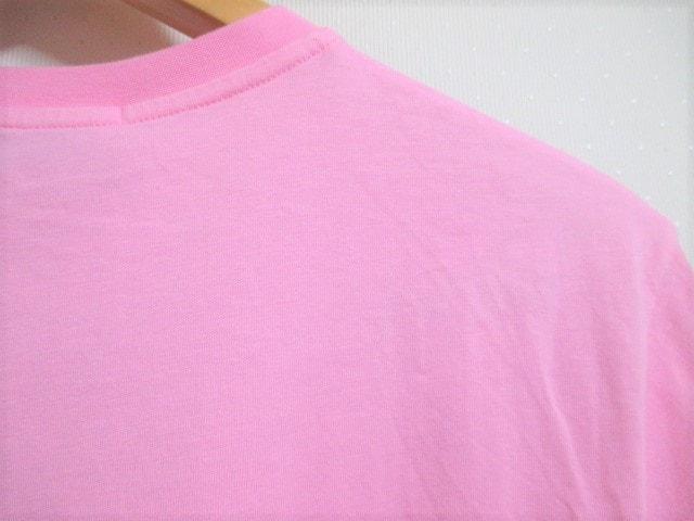 ☆MSGM エムエスジーエム ロゴ プリント Tシャツ/メンズ/XS/ピンク☆新品 < ブランドの