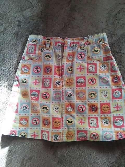 WAMWAM 可愛い絵スカート130  < ブランドの