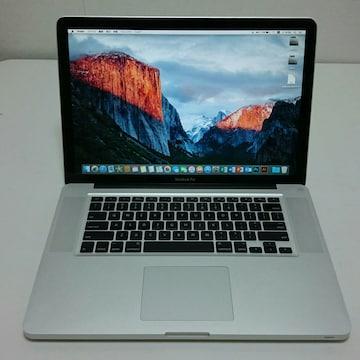 【M6013】動作良好 15インチ★アップル MacBook Pro Office