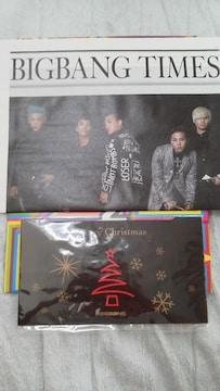 未使用美品BIGBANG 公式会報 No.4(フォトクリスマスカード付)貴重必見