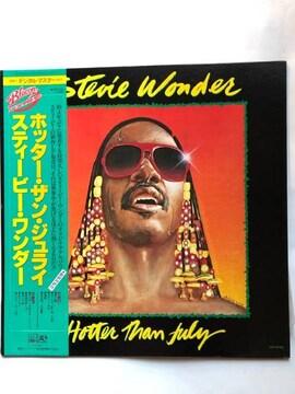 L Pレコード.ホッター・ザン・ジュライ/スティービー・ワンダー