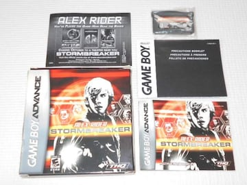 GBA★ALEX RIDER STORMBREAKER 海外版(国内本体動作可能)