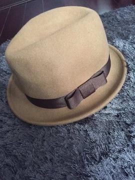 スウィングル新品ハット!キャメル帽子
