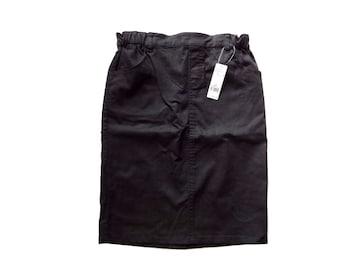 新品 定価3400円 グローバルワーク 黒 タイト スカート 膝丈 L