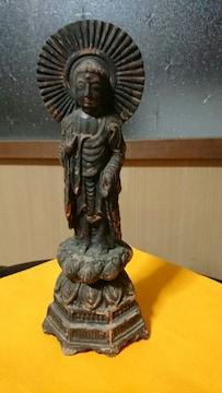 鎌倉時代→輪廻観音→蓮台座→須恵器技法→像