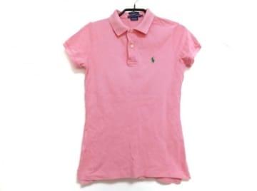 ラルフローレンRalphLauren半袖ポロシャツSサイズピンクトップス