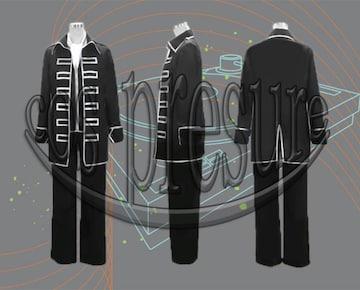 銀魂 真選組隊服 (銀縁)◆コスプレ衣装