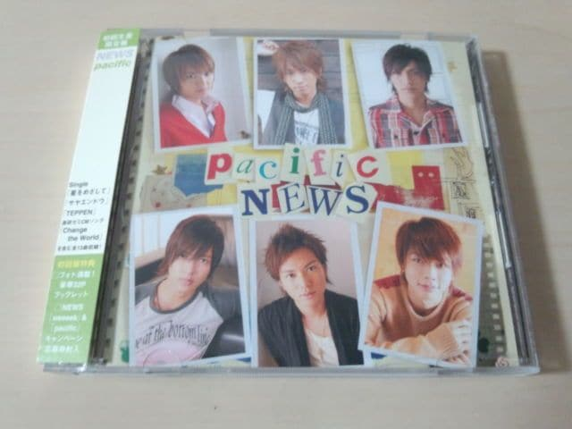 NEWS CD「pacific」山下智久 初回生産限定盤●  < タレントグッズの