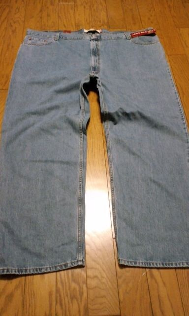 Levi'sリーバイス デニム 550ワイド ウォッシュ サイズW56×30 ウエスト146cm < 男性ファッションの