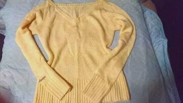 cocobong*Sexyvネック薄手セーター