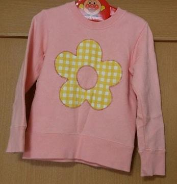 ムージョン購入☆mialy mail☆お花のトレーナー☆size100