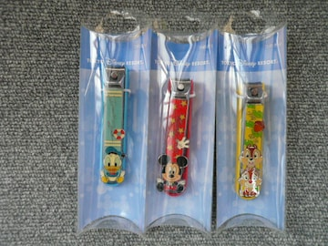 東京ディズニーリゾートTDR「爪切り3種セット」(B11)