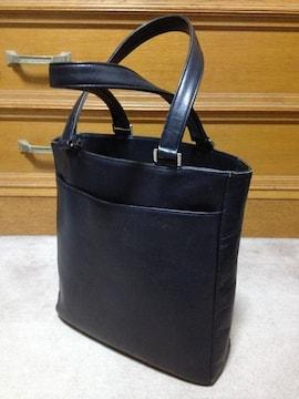 アニエスベー レザー ハンド トートバッグ 革鞄 黒 ブラック 日本製 ポーター 肩掛け