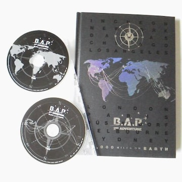 【廃盤】B.A.P 2枚組DVD+写真集【日本盤】2nd ADVENTURE ヒムチャン
