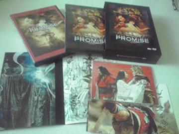 美品 プロミス 無極 アウターケース ポストカード デザイン画集付 DVD3枚組