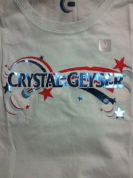 ミネラルウォーター CRYSTAL GEYSER クリスタルカイザー ユニクロ コラボ Tシャツ M ブルー 水