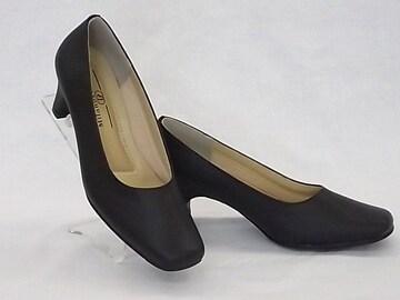 Milano Private 2200 22.5cm 黒 プレーンパンプス 礼装 オフィス