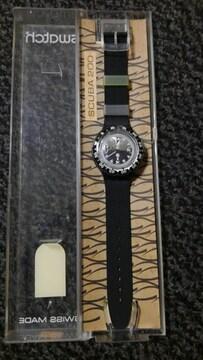 腕時計 スウォッチ swatch SCUBA 200 希少未使用品 ケース付き