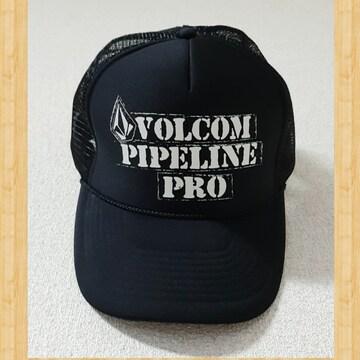VOLCOM ボルコム CAP メッシュキャップ 帽子 OTTO 黒 未使用