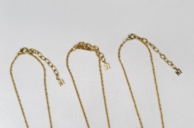 【まとめて】Nina Ricci ニナリッチ ネックレス 3本セット < ブランドの