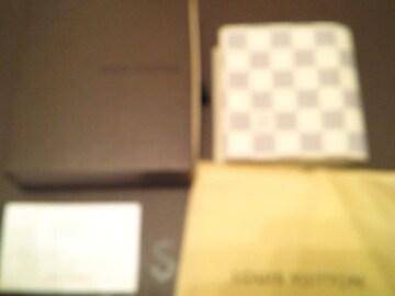 新品未使用ルイヴィトンLOUIS VUITTONアズール財布二つ折りダミエ