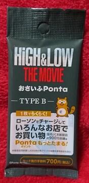 HiGH&LOW THE MOVIE LAWSONおさいふPonta TYPE B