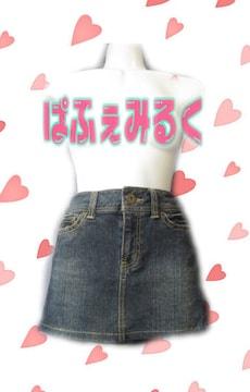 M227☆SEXY☆COLZAのミニミニデニムスカート