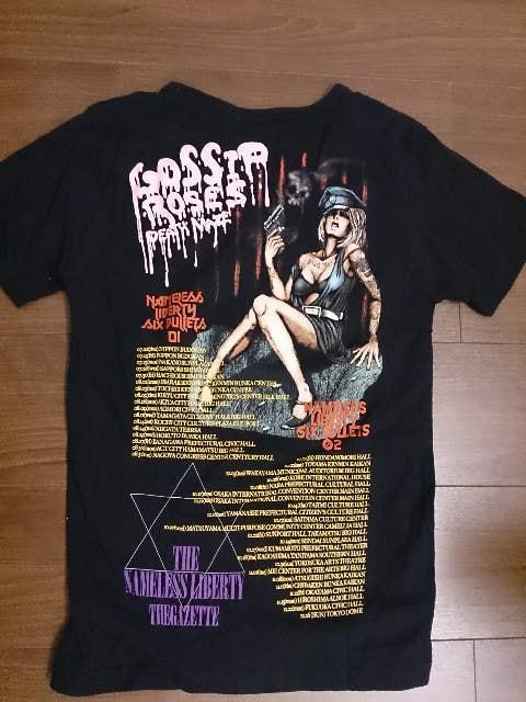 the GazettE「LIVE Tシャツ」BLACK MORAL < タレントグッズの