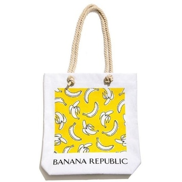 ★GINGER x BANANA REPUBLIC★付録☆バナナ柄トートバッグ