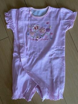 ベビー服3〜6ヵ月女児ロンパース