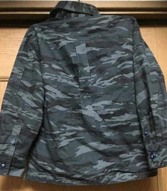 新品☆Sサイズ109-124�p☆GAPブランド迷彩ジャケット < ブランドの