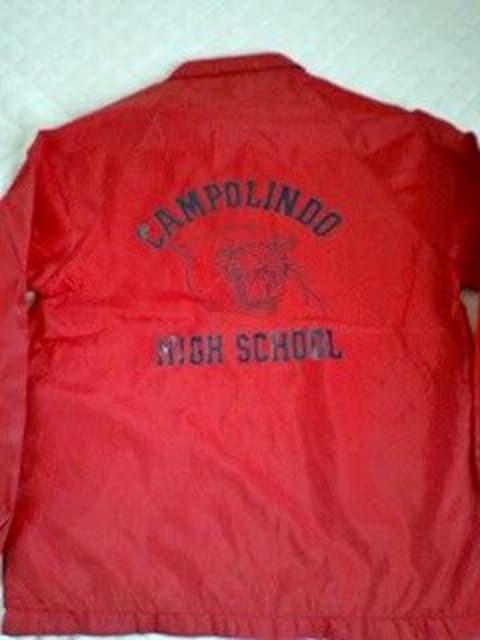 訳あり激安90%オフ海外限定、カレッジ、コーチジャケット(美品、赤、M)  < 男性ファッションの