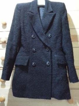 アレグロヴィヴァーチェ*黒のコート《M》クリ済/送料510円