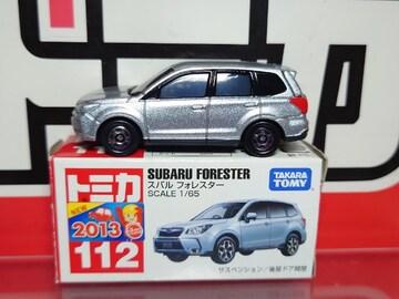 ★赤箱トミカ112★スバル フォレスター★