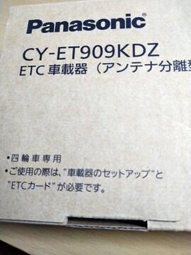 パナソニックのETCです。新品未使用品です。