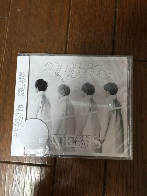 新品未開封 NEWS White 通常盤 CD 1枚組  < タレントグッズの