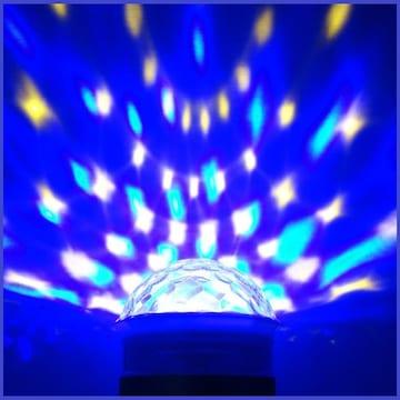 ポータブルスピーカー ミュージックライト(ブルー) Bluetooth