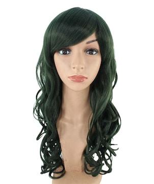 Wigs2you C-003 C-Dark Sea Green☆コスプレウィッグ