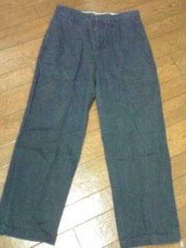 ノーティカ 上質紺パンツ 32×30