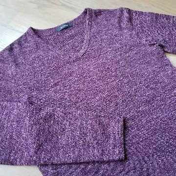 ★RAGEBLUE製 Vネックニット/レイジブルー    セーター