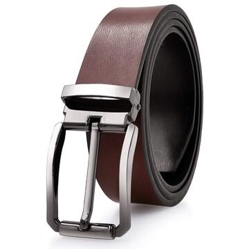 ベルト メンズ 革 シルバー