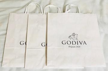 ゴディバ袋3枚定形外郵便配送可能