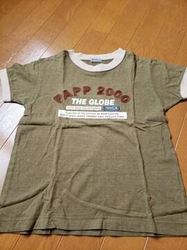 ☆新品同様☆パプpapp☆半袖Tシャツ☆120