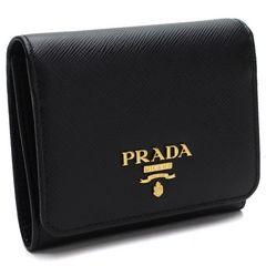 PRADA  メタル 3つ折り財布 1MH176 QWA F0002