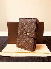 1円 ◆正規品◆ 超美品 ルイヴィトン モノグラム パピエ 財布