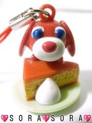 【お茶犬】可愛い♪携帯ストラップ�@