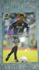 2009 カルビーJ リーグカード AW- 12 パープルサンガ 柳沢 敦
